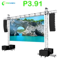 Buy cheap Flexible IP65 P3.91 Stage Backdrop Led Panel 1000W/sqm from wholesalers