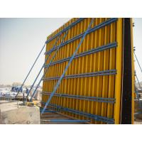 Buy cheap Custom Concrete Wall Formwork Concrete Wall Form , Lightweight 55-60kg/m2 from wholesalers
