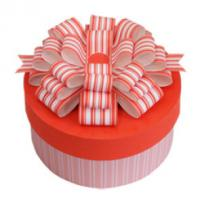 Buy cheap Paper Cylinder - Shaped Gift Box Packaging Pink For Birthday Cake from wholesalers