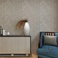 Buy cheap Natural Plant  Fiber Particle Interior Wallpaper Hotel Office Decor from wholesalers