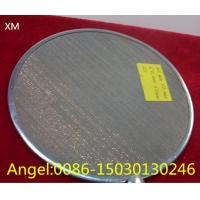 Buy cheap Food grade Stainless Steel Wire Cloth Filter Disc Mesh/filter disc wire mesh from wholesalers