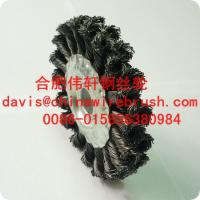 Buy cheap 4 Twist Wheel Brush, Knotted, Double Row from wholesalers