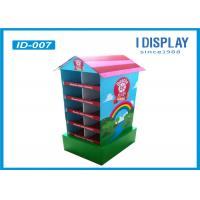 Buy cheap Cardboard House Shaped Shelf Display , Kids Advertising Display Stands from wholesalers