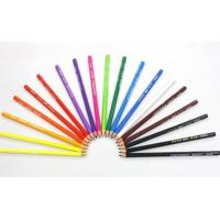 Buy cheap 24 Colors Pencil Crayon Set, Triangle Shape Pencil in Paper Color Box from wholesalers