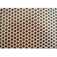 Buy cheap Standard  BH Finish Stainless Steel Perforated Sheets Suppliers For Corrugated Pipe from wholesalers
