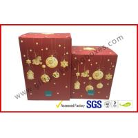 Buy cheap Foldable Corrugated Tin Package , Pop Up Decorative Christmas Gift Boxes With Lids from wholesalers