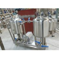 Buy cheap CIP System Beer Brewing Accessories Stainless Steel 304 Main Body Material from wholesalers