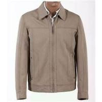 Buy cheap Size 46, Size 50, Casual and Gray Knitting Lightweight 100% Cotton Jackets for Men product
