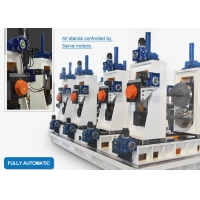 Buy cheap HG89 Full-Automatic Automatic Erw Copper Square Tube Making Machine Steel Pipe Manufacturing Machine from wholesalers