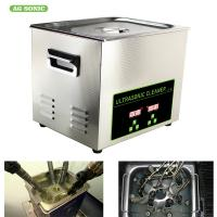 Buy cheap 200W 10l Ultrasonic Digital Cleaner Tabletop For Automotive Parts Motor Engine from wholesalers