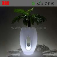 Buy cheap Christmas decoration cheap Color Changing LED light Flower Planter / Pot from wholesalers