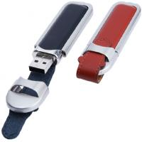 Buy cheap Latest Black Leather USB with CE FC 2gb 4gb 8gb 16gb from wholesalers