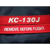 Buy cheap Marine Super Hercules KC-130J Remove Before Flight Tag Custom Embroidery Keychain With Metal Ring from wholesalers