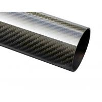 Buy cheap 50mm carbon fiber tubes carbon fiber rod cfrp FRP from wholesalers
