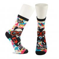 Buy cheap Adults  OEM Service  Breathbale Eco-friendly Custom Made Size 3D-Printing Socks from wholesalers