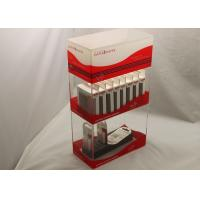 Buy cheap 2 Tier Electronic Cigarette Acrylic Display Holders For Supermarket product