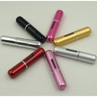 Buy cheap 5ml Portable Mini Refillable Perfume Atomizer Empty Spray Bottle With Silk Screening from wholesalers
