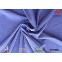 Buy cheap Plain Dyed Semi-dull Solid Color Polyester Spandex Fabric For Apparel from wholesalers