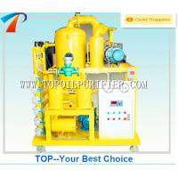 Buy cheap TOP transformer oil renewable plant with two stage vacuum system,vacuum pump and roots pump,no pollution from wholesalers
