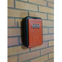 Four Wheel Combination Outdoor Key Lock Box for Multiple Keys or Cards