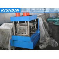 Buy cheap Lip Channel C Profile C Purlin Roll Forming Machine with Post Cut from wholesalers