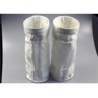 Buy cheap Non Elongation Dust Filter Bag , Cloth Filter Bags High Efficiency Heat Treatment from wholesalers