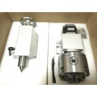 Buy cheap Gapless Harmonic Drive Reduction CNC 4th Axis K12-100mm 4 Jaw With Reduction Gearbox product