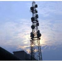 Buy cheap 21m self support tower angel steel pylons mobile lattice steel telecommunication towers product