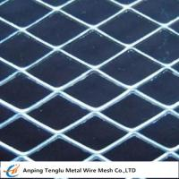 Buy cheap Carbon Steel Expanded Metal |Flattened/Standard Expanded Mesh product