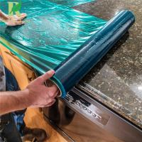 Buy cheap 0.03-0.2mm Easy Peel Customized Green Protection Countertop Film from wholesalers