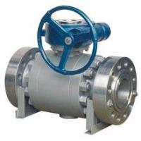 Buy cheap API Forged Steel Trunnion Mounted Ball Valve Float High Pressure Big Size from wholesalers