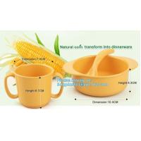 Buy cheap Biodegradable Eco Friendly Dinnerware PLA Bowl , PLA Fruit Salad Bowl Healthy Children from wholesalers