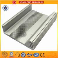 Buy cheap Heat Insulating Aluminum Heatsink Extrusion Profiles Environment Protected from wholesalers