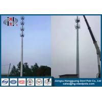 Buy cheap Antenna Telecommunication Towers , Monopole Antenna Tower With Platforms from wholesalers