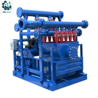 Buy cheap API Standard Oilfield Drilling Mud Cleaner, Including Mud Desander, Mud Desilter And Shale Shaker from wholesalers