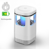Buy cheap Foshan supplier rechargeable USB photocatalysis insect killer lamp LED cordless bug zapper from wholesalers