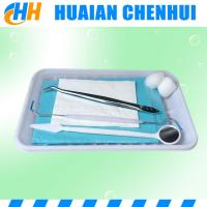 China PP Material Disposable Dental Instrument /  sterile dental oral instrument kit on sale