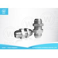 Buy cheap Carbon Steel JIC 37 Degree Flare Fittings Hydraulic Bulkhead Fittings Connector from wholesalers