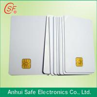 Buy cheap inkjet pvc card/contact IC card/contact smart pvc card/plastic inkjet pvc card from wholesalers