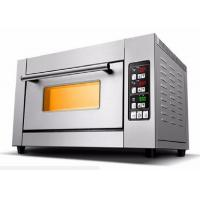Buy cheap Gas One Deck Two Trays Electric Baking Oven , Electric Deck Oven Big Glass Door from wholesalers