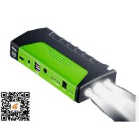 Buy cheap Green Portable Car Jump Starter Led Light Torch / Sos / Strobe 3 In 1 Jump Starter And Power Supply from wholesalers