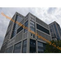 Buy cheap Office Building Multi-storey Steel Building With Glass Curtain Wall Cladding System from wholesalers