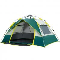 Buy cheap One Second Pop Up Quick Open Tent 190t Polyester Pu Material Single Layer from wholesalers