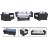 Buy cheap luxury rattan furniture set fireproof outdoor sofa set GC70133R from wholesalers