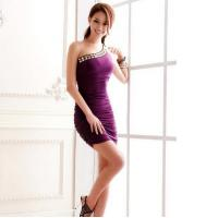Buy cheap Girls Short Mini Women's Bridesmaid Dress Bodycon Ball Gown For Evening Party from wholesalers