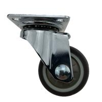 Buy cheap Top Swivel Plate Light Duty Casters Without Brake , Swivel Stem Casters from wholesalers