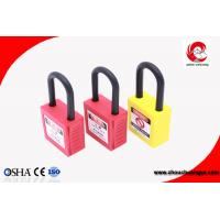 Buy cheap ZC-G11 New Cheap Padlock Different Colors Safety Lockout Padlock Durable Non-conductive from wholesalers