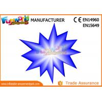 Buy cheap LED Flower And Star Inflatable Lighting Decoration For Party / Stage Decoration from wholesalers