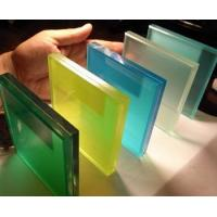 Buy cheap 300mm * 300mm min size clear laminated safety glass for long corridor, bullet proof from wholesalers