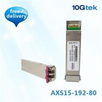 Buy cheap Cisco XFP 10GBase-ZR 1550nm 80KM (XFP-10GZR-OC192LR), HP/Huawei compatible from wholesalers